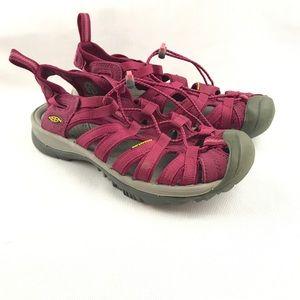 Keen Womens Size 8 Whisper Sandals Waterproof EUC